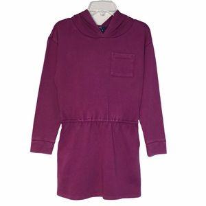 Gap Sunwashed Cotton Hooded Dress/Tunic